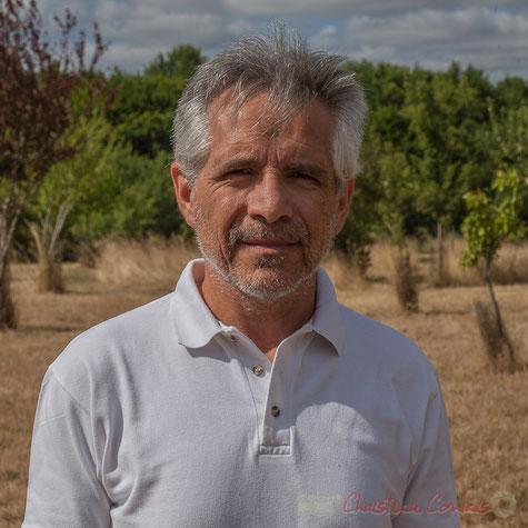 Christian Coulais, vidéo-photographe. 12 juillet 2015. Autoportrait.
