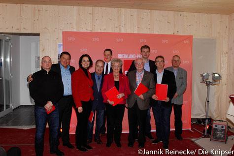 Zu sehen sind unteranderem: Markus Held, Kathrin Anklam-Trapp, Thomas Goller, Peter Mertens , Wolfgang Itzerodt.
