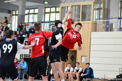 Silas Höfler für die TGO mB-Jugend