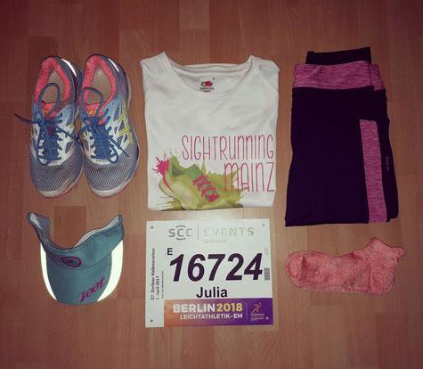 Meine Ausrüstung für den Halbmarathon