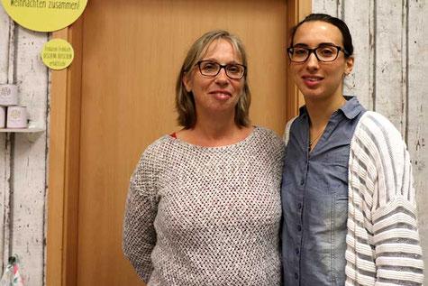 Quelle: www.auepost.de / Foto: Mirko Baschetti - Meine Mama Dagmar (links) und ich (Deniz)