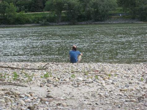 Meditation an der Donau bei Rossatz-Arnsdorf