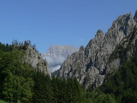 Großer Buchstein von Johnsbach aus, Achtsame Momente in den Bergen
