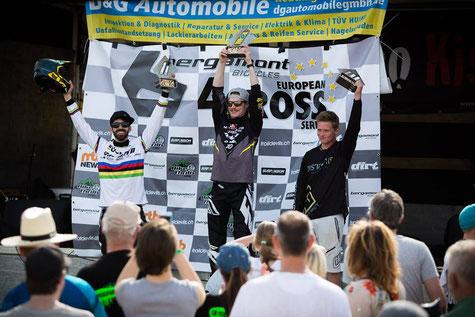 Simon Waldburger wins in front of Aiko Göhler & Tom Scherrer