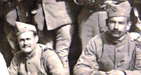 """La """"corvée de pluche"""" au 147e RI, 1919, SHD"""