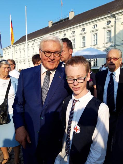 Bürgerfest in Berlin mit Frank Walter Steinmeier