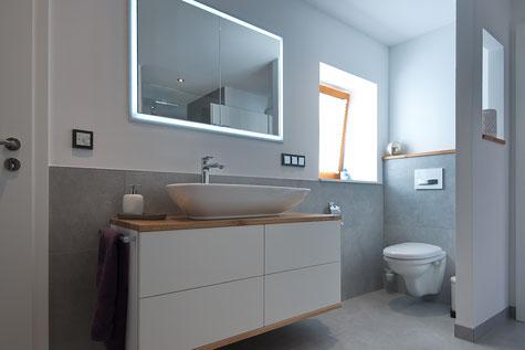 Innenarchitektur - Bad - Gestaltung - Interieur Design - Waschtisch - Planung
