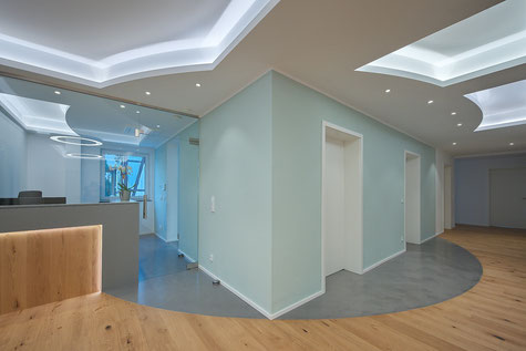 Interior design - Innenarchitektur - Konzept - Kanzlei - Lichtplanung - Göttingen - Planung