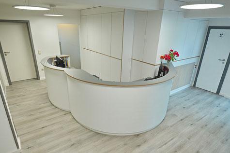 Planung - Arztpraxis - Entwurf - Göttingen - Interior Design - Innenarchitekt - Bauleitung
