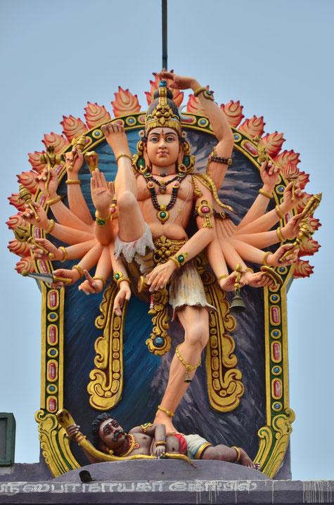 Temple de Sri Nataraja à Chidambaram, Tamil Nadu