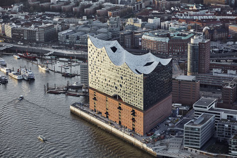 Incoming Germany, Hamburg, Elbphilharmonie