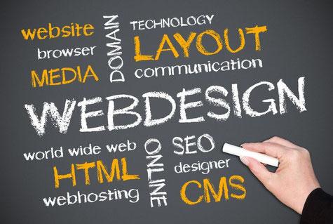 Homepage/Webshop erstellen: Webdesign, Website, Domain, Layout, SEO