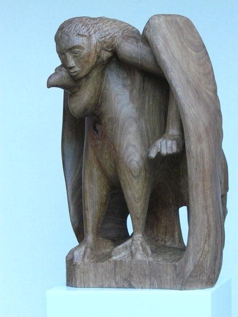 Der Adler trägt die Windsbraut empor