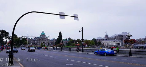 in Victoria auf Vancouver Island