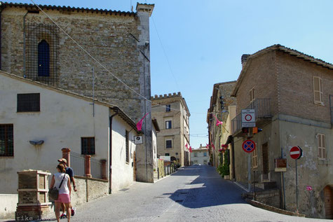 Corso Mameli in Montefalco