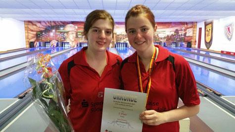 Gemeinsam erfolgreich: Alisa und Alena Bimber vom ESV Pirmasens (Foto: Privat)