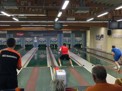 Setzte sich mit 603 Kegel in der Qualifikation auf den 2. Platz: Pascal Kappler (Foto: Carsten Kappler)