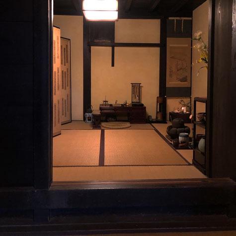 今井町 今西家 帳台構え Japan Nara Kashihara Imaicho Imanishi Family Residence