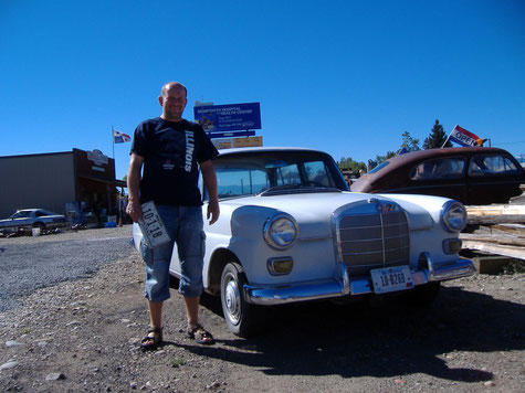 Bild: Mercedes-Benz Heckflosse in Montana