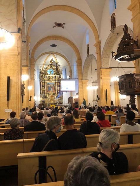 Messe d'envoi en mission à Martigny (11.09.21)