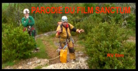 Une parodie du film Sanctum en spéléologie sur le département du Lot 46 à l'igue de Toulze près de Cajarc,un gouffre digne de Padirac avec Lot aventure .Touristic vallées Lot Dordogne.TVLD.