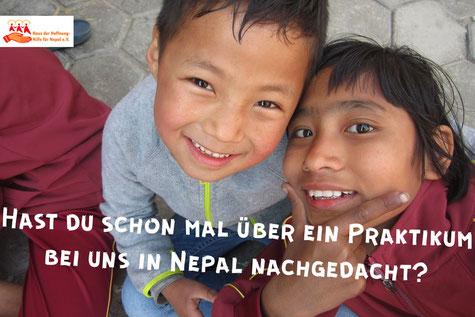 Hast du schon mal über ein Praktikum bei uns in Nepal nachgedacht?