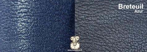 Cuir de chèvre Breteuil luxueux pour recouvrir vos écrins a bijoux sur mesure