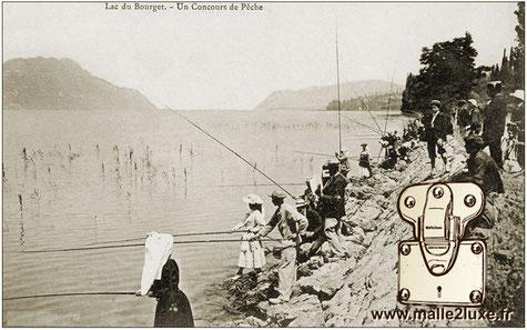 Malle canne à pêche à la ligne Louis Vuitton 1931