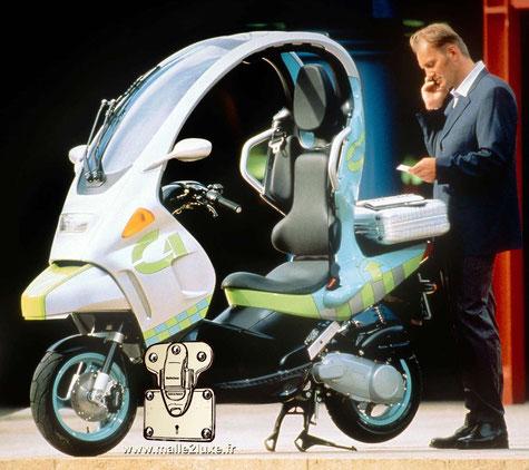 scooter Louis Vuitton et BMW