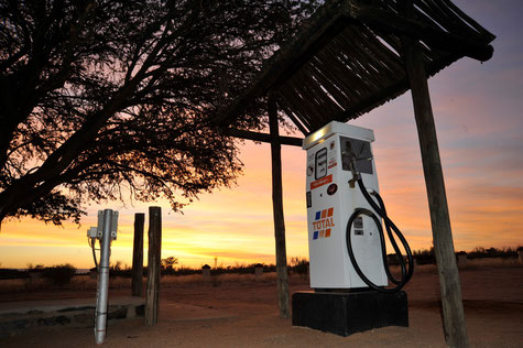tankstelle am canyon roadhouse beim fish river canyon