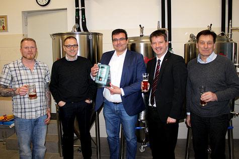 Brauerei Eröffnung 5 Liter Partyfass Bierfass HUBER Packaging
