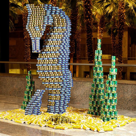 Metal Packaging Europe announces a European partnership with Canstruction