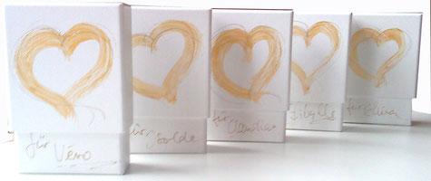 Bild: Ich Bin Dein Herz - Spielkarten-Sets, individualisiert . Aus Liebe im Leben © Susanne Barth