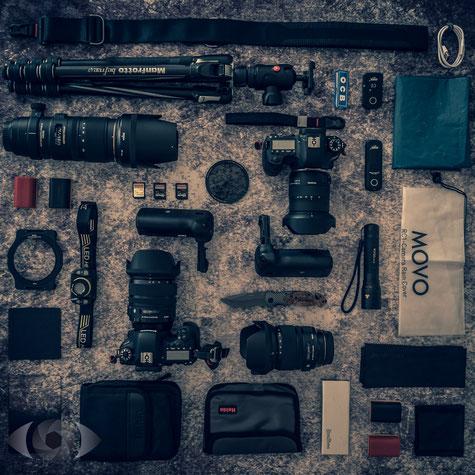 Kamera Equipmet  Foto Ausrüstung