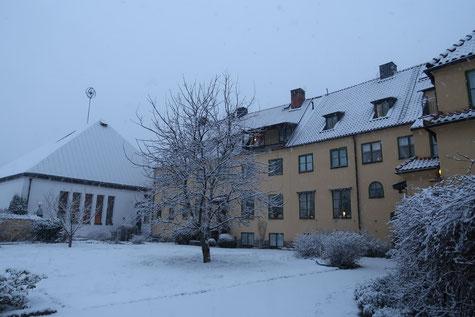 Gästehaus und Kloster