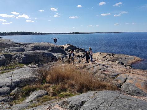 Praktikantenausflug an die schwedische Ostküste