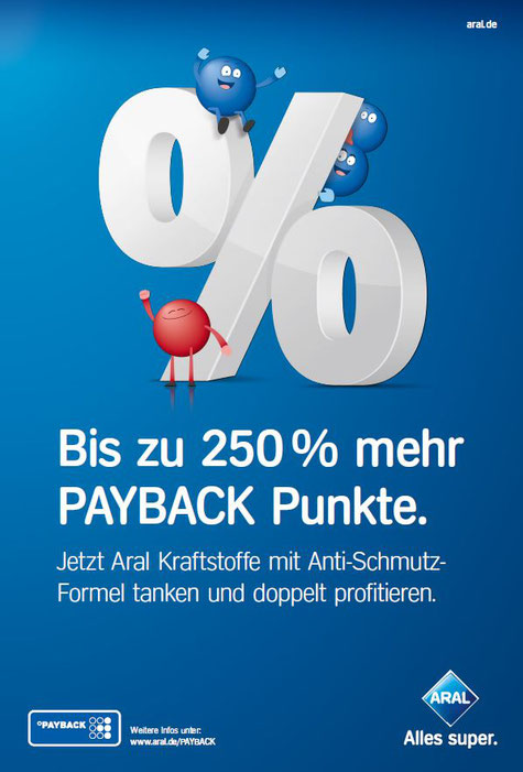payback aktionen aral