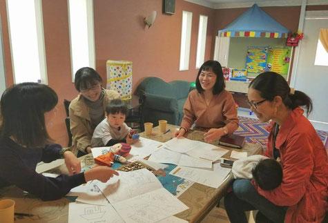 英語子育て中のお母さま達の貴重なアイデアをたくさん反映しています!
