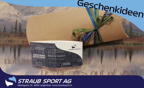 Geschenkideen Straub Sport AG Langenthal
