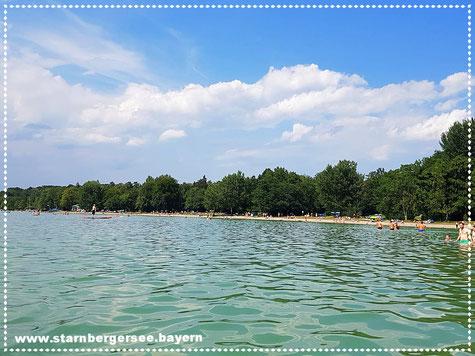 Badestelle Ambach am Starnberger See