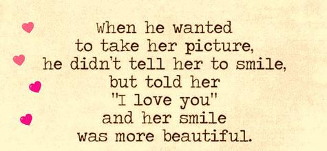 Romantik, Fotolächeln, Lächeln, smile, beautiful
