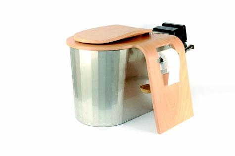 Ecodomeo Komposttoilette trockentoilette toilet seche kompostklo ökoklo alptoilette alphütte, jagdhütte, berghütte, Ecosphère, wurmtoilette, SAC, SAC hütte