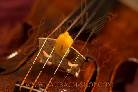 Сурдина для скрипки формы скрипки желтая купить