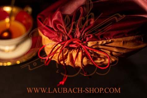 Шелковый чехол Laubach для скрипки с шелковым шнуром