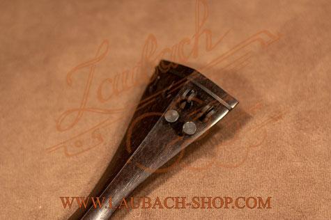 Профессиональный облегченный акустический подгрифник для  скрипки 7/8 - 4/4 из  черноо дерева с  двумя или с четырьмя   карбоновые машинками купить недорого.