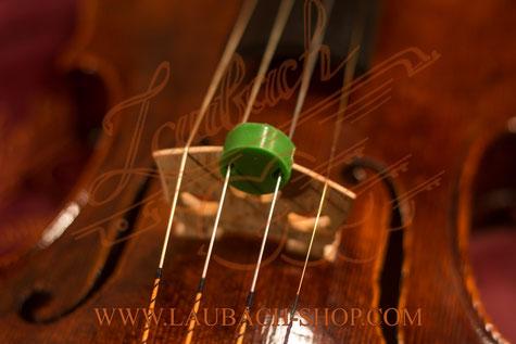 Сурдина цветная круглой формы для  скрипки, альта и виолончели