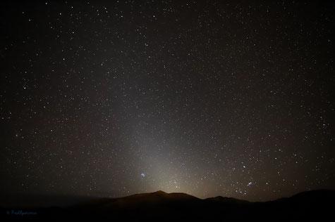 Luz Zodiacal al Amanecer