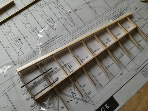 Baubericht Graupner Cirrus 3 Meter Spannweite mit GFK Epoxi Rumpf und CNC Lasercut Rippensatz