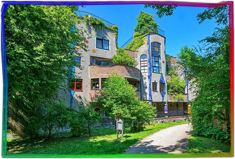 Das Hundertwasserhaus in Bad Soden,