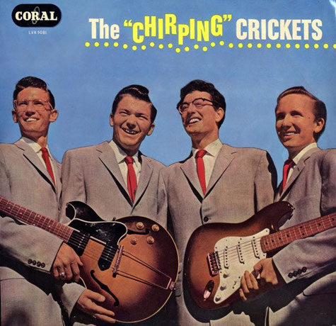 The Chirping Crickets Coral LP